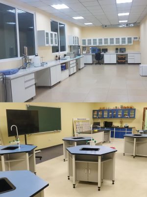 Лабораторийн тавилга
